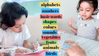 how to teach 2 year old  | what to teach 2 year old baby at home