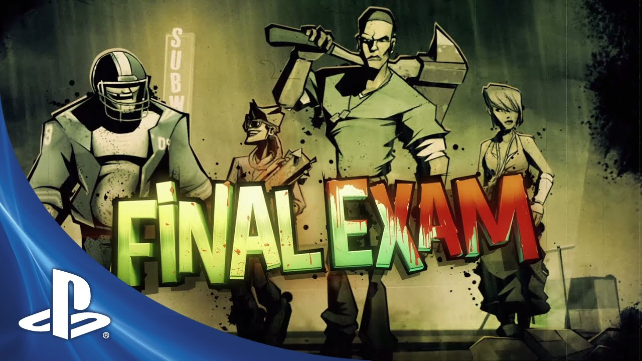 Final Exam Out Today for PS3