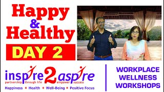 Happy Healthy Challenge Day 2 - Laughter Yoga - Mental Health, Emotional Wellbeing