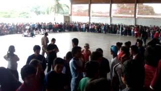 preview picture of video 'Escuela Nacional de Comercio San Juan Bautista Paraguay celebrando.MPG'
