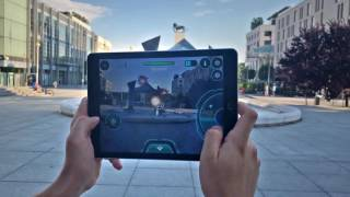 Drone n Base – Augmented reality game