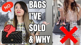 BAGS IVE SOLD AND WHY! | Chanel, LV, Hermes Etc REGRETS? | Mel In Melbourne