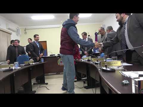 Câmara de Juquitiba presta Homenagem a Rodrigo Vitorino