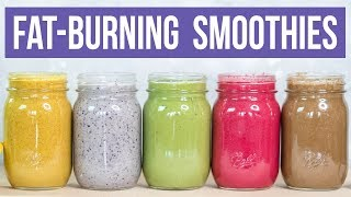 5 Healthy Breakfast Smoothies You MUST Try For Fast Weight Loss! (KETO & PALEO) | Smoothie Recipes