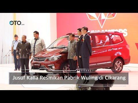 Jusuf Kalla Inaugurates Wuling Factory in Cikarang I OTO.com
