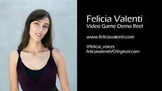 Felicia Valenti Video Game Demo