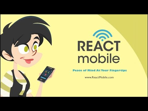 Video of React Mobile – Safety App
