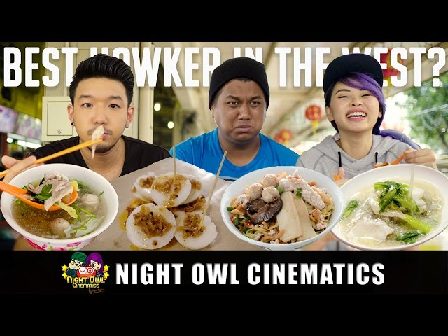 Food King: Best Hawker Food in the West?!