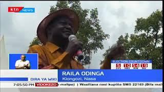 Raila Odinga ahudhuria ibada ya misa bustani ya Jaramogi Odinga akitoa rambirambi zake kwa waliouawa
