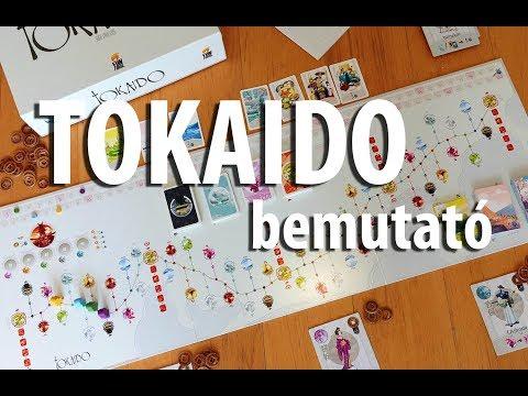 Tokaido - társasjáték bemutató - Jatszma.ro