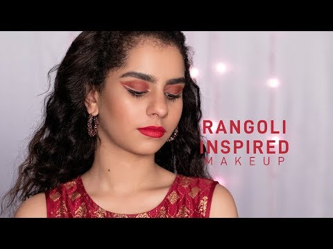 Rangoli Inspired Makeup | Makeup Tips & Tricks | MyGlamm