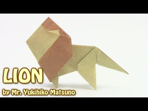 How to make an Origami Lion - YouTube | 360x480