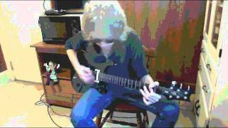 Tom Petty And The Heartbreakers-Jammin' Me  (guitar cover)