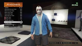 How To Make Lui Calibre,VanossGaming &H20 Delirious'Outfit-GTA5
