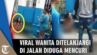 Viral Video Persekusi Wanita Ditelanjangi di Jalan Diduga Mencuri, Direkam hingga Ditonton Anak-anak