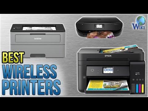 10 Best Wireless Printers 2018