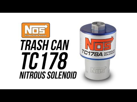 NOS Trash Can TC178 Nitrous Solenoid