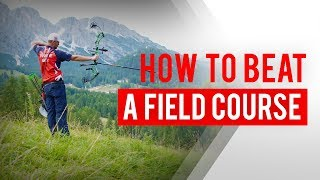 How to shoot a field archery target