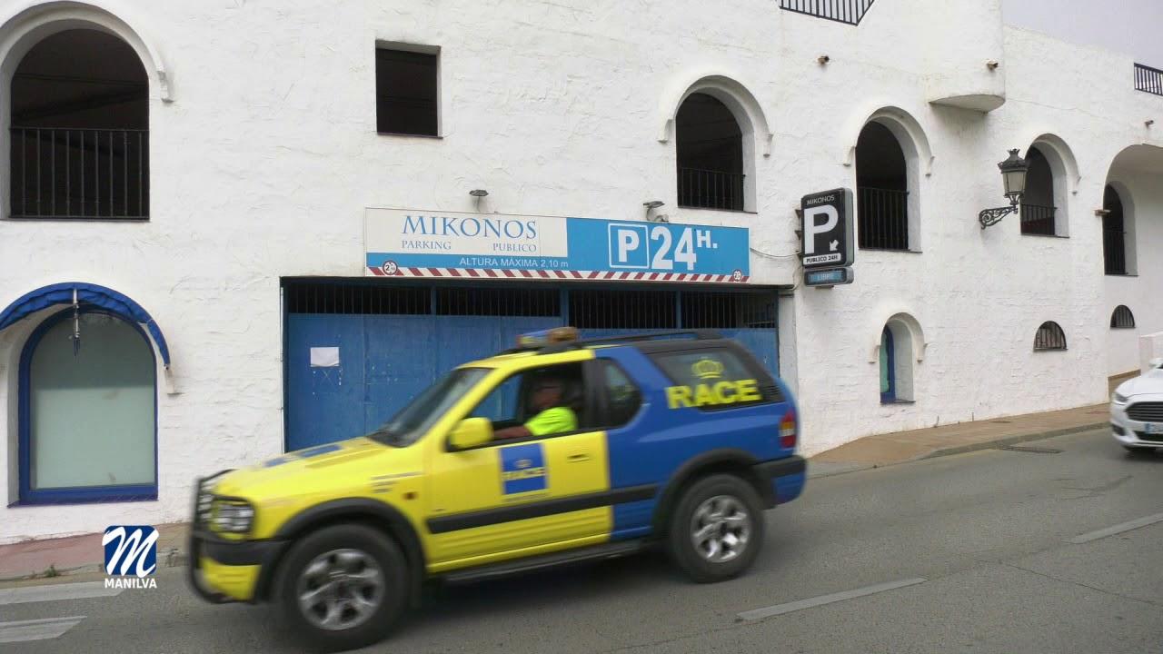 LOS APARCAMIENTOS DE SABINILLAS Y LA DUQUESA SE ABREN AL PÚBLICO