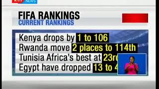 Harambee Stars drops one point on international FIFA rankings