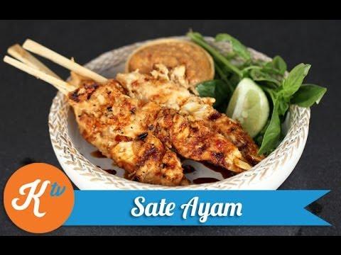 Video Resep Sate Ayam ala Yuda Bustara (Chicken Satay Recipe) | YUDA BUSTARA