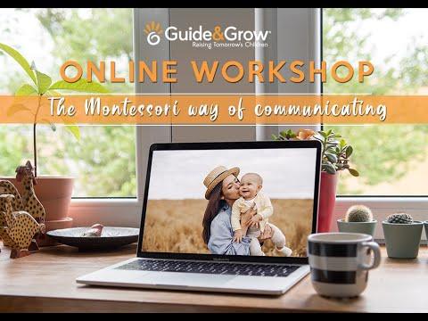 Online Workshop - The Montessori way of communicating [TRAILER ...