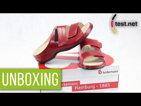 Berkemann | Daria Damen Pantoletten (Unboxing) | test.net