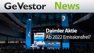 Das Ende des Sternestaubs – Daimler will ab 2022 emissionsfrei fahren