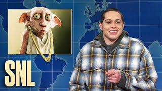 Weekend Update: Pete Davidson on J.K. Rowling's Transphobic Comments - SNL