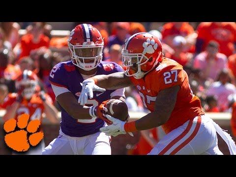 Clemson Football Spring Game Highlights (2017)