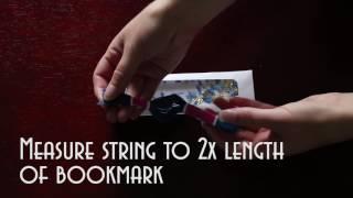 DIY Glitter Bookmark