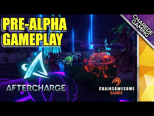 Aftercharge Pre-Alpha Gameplay: My First Victory | Ep 02 | Charede Game Early Access & Previews