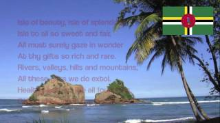 Dominican National Anthem - Isle of Beauty, Isle of Splendour