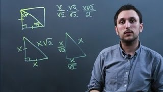 Properties Of Isosceles Right Triangles : Solving Math Problems