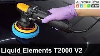 Liquid Elements T2000 V2 Poliermaschine unboxing / Test