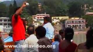 Boat service across Ganga in Uttarakhand