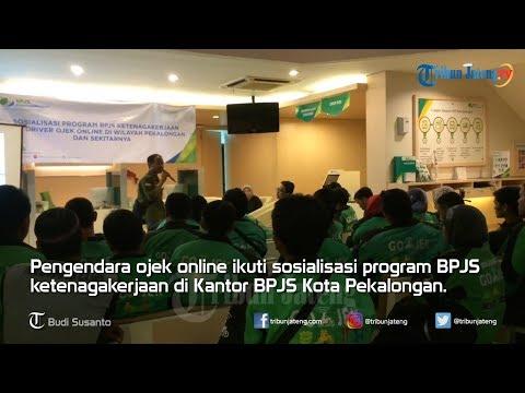 Sosialisasi BPJS Ketenagakerjaan bagi Ojek Online