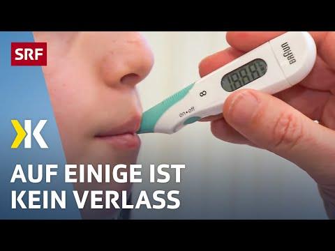 Fiebermesser im Test: Die bewährte Technik überzeugt    2018   SRF Kassensturz