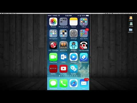 How to Delete All Photos Pictures iPhone iPod iPad Tutorial