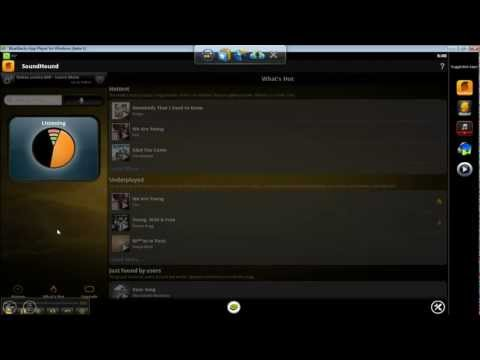 Enjoy Soundhound on Windows PC from http://bluestacks.com