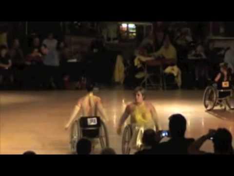 Internationale danswedstrijd Cuijk - Finale Amateurs Duo 2 standaard