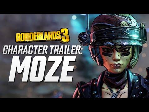 "Borderlands 3 - Moze Character Trailer: ""The BFFs"" thumbnail"