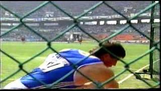 Jurgen Schult at the Olympics Seoul 1988