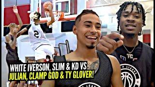 White Iverson & Slim Reaper vs Julian Newman, CLAMP GOD & TY!! Ballislife Squad SHUTS DOWN OHIO!