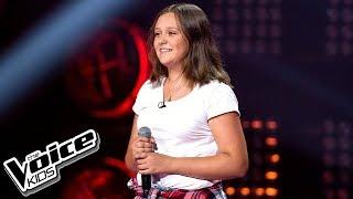 """Julia Borowik - """"Lustra"""" - Przesłuchania w ciemno - The Voice Kids Poland 2"""