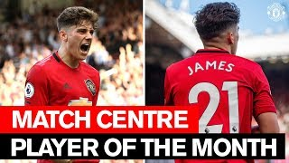 Daniel James   Player of the Month   August 2019