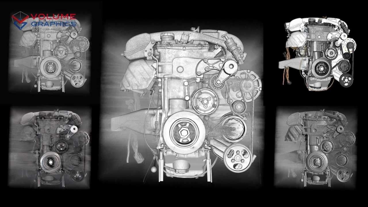 VR6 engine (step-by-step assembly)
