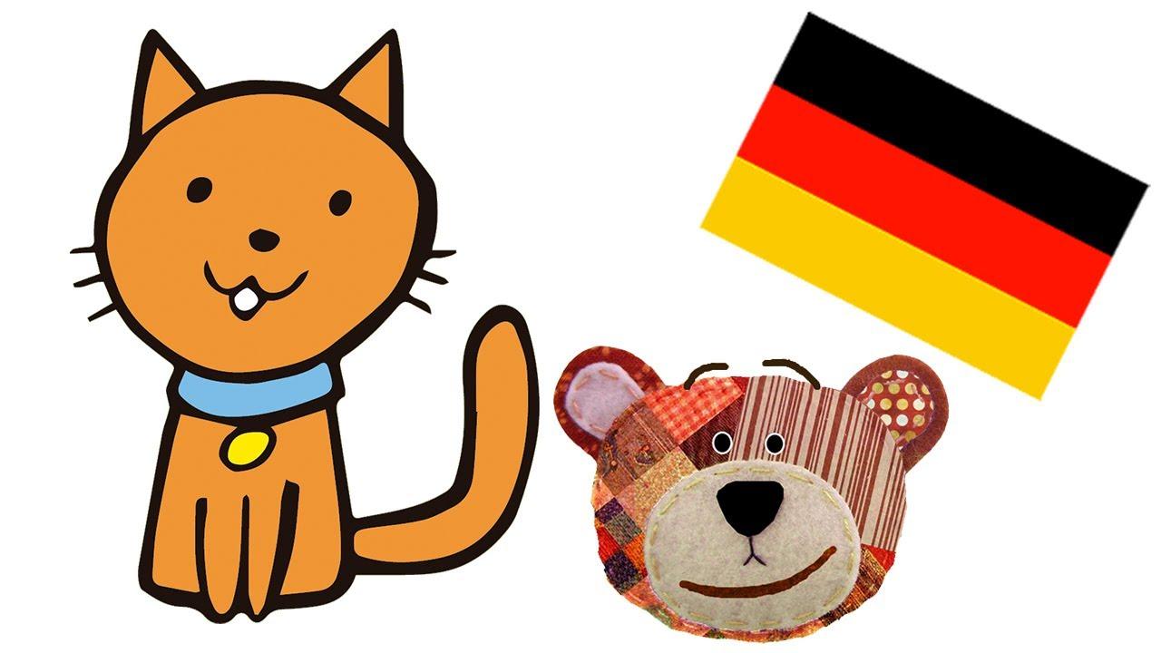 Nombres de mascotas en alemán para niños
