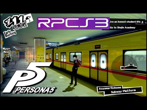 PS3 Emu | Persona 5 60fps patch test Haswell TSX i7 4790k