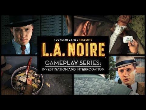 L.A. Noire Video Explains Investigation and Interrogation